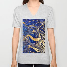 Linear Chaos Cool Unisex V-Neck