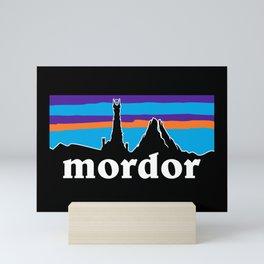 barad dur Mini Art Print