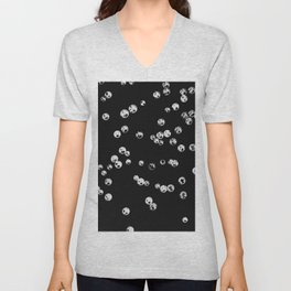 Crystal Stones #2 #shiny #decor #art #society6 Unisex V-Neck