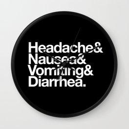 Illness Wall Clock