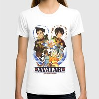 avatar the last airbender T-shirts featuring Team Avatar by Willow