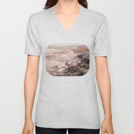 Petrified Forest Eastward View Unisex V-Neck