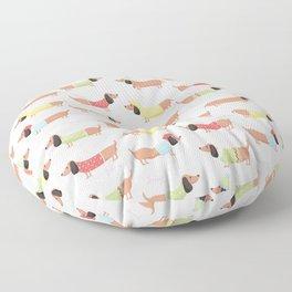 Cute Bassotti Floor Pillow