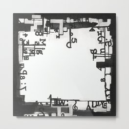 TYPOGRAPHiKA Metal Print