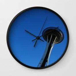 Seattle reaches the sky! Wall Clock
