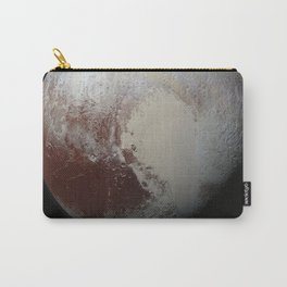 NASA-planet-asteroid poster-pluto Carry-All Pouch