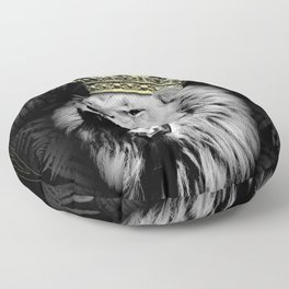 King of the Jungle Floor Pillow