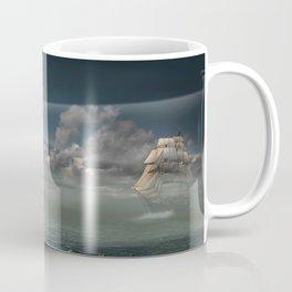 Lighthouse Under Back Light Coffee Mug