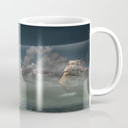 Lighthouse Under Back Light Coffee Mug