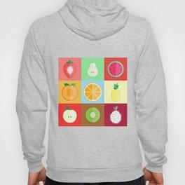 Fruits - Pattern Hoody