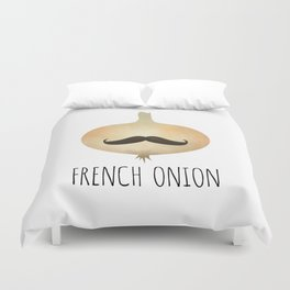 French Onion Duvet Cover