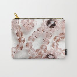 PLOOM - Lucky Pink Crystals in Bloom Carry-All Pouch