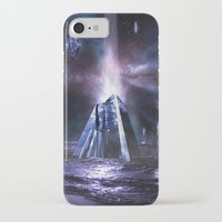 heroes of olympus iPhone & iPod Cases featuring Olympus by Benjamin Parslow