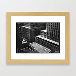 Roofs Over Fifth Avenue Framed Art Print