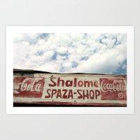 Shalome Spaza Art Print