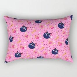 Chibi Moon Pattern / Sailor Moon Rectangular Pillow