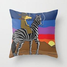 Bandana Madlib Gibbs Quas Throw Pillow