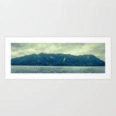 Hoh rainforest in Washington state. Art Print