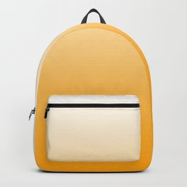 Sunflower Yellow Ombre Backpack