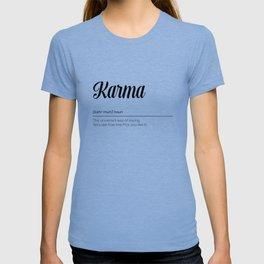 Karma Definition T-shirt