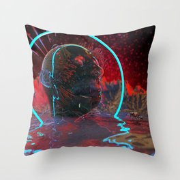 Devouring The Stars Throw Pillow