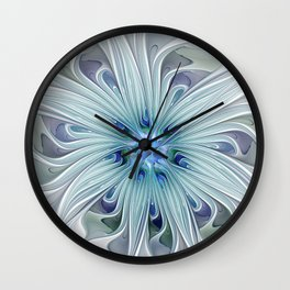 Another Floral Beauty Wall Clock