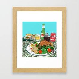 Scottish Beef Steak & Guinness Pie Framed Art Print