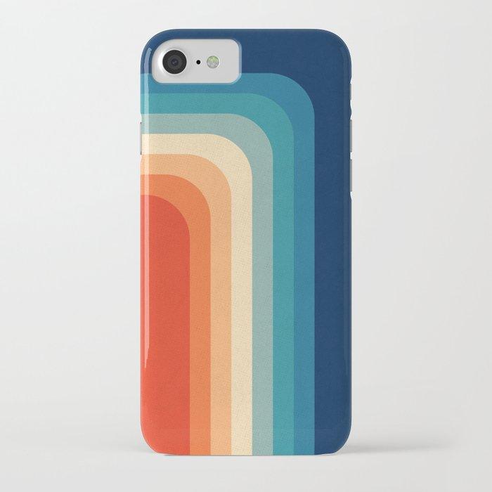 Retro 70s Color Palette III iPhone Case