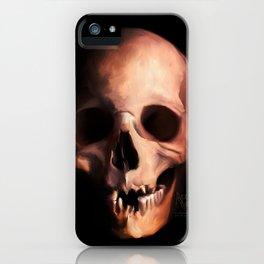 The Skull of Yorick iPhone Case