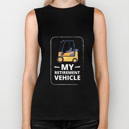 Funny My Retirement Vehicle Senior Citizen Men Women T Shirt Humor Retired Family Novelty Wear Tee Biker Tank