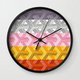 Goyard Rainbow Wall Clock