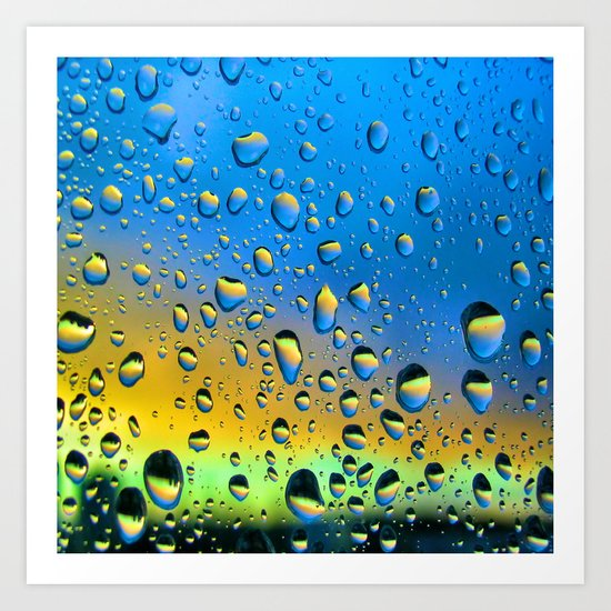 The Rain Watching the Sun Art Print