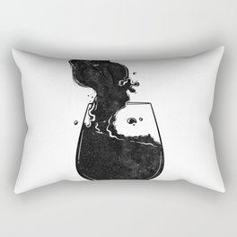 Mind wanders. Rectangular Pillow