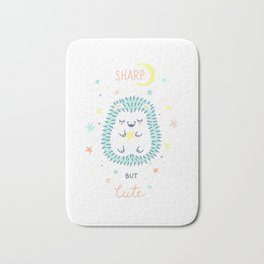 Cute Hedgehog Bath Mat