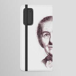 Golda Meir Android Wallet Case