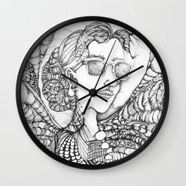"""She's mad, but she's magic"" Wall Clock"