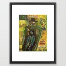 URIAH HEEP Framed Art Print