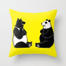 Head Swap Throw Pillow