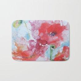 Poppies 04 Bath Mat