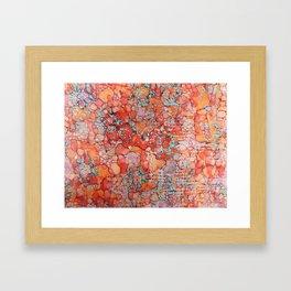Hot Spots Ink #9 Framed Art Print