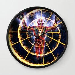 alex grey cosmo cosmic design 2020 ratorah Wall Clock