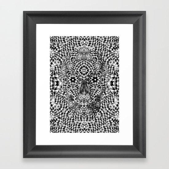 Skull VII Framed Art Print