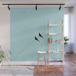 Wire Wall Mural