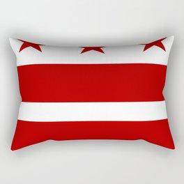 Washington DC District Of Columbia Flag Rectangular Pillow