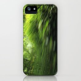 Pisgah National Forest on 197 - NC iPhone Case