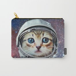 Astronaut Cat #4 Carry-All Pouch