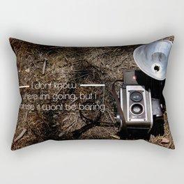 Not boring! Rectangular Pillow