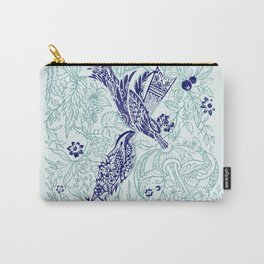 An emerald world is listening... Carry-All Pouch