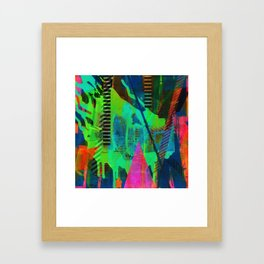 Navigating The Labyrinth Series 7 Framed Art Print