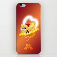 sailor venus iPhone & iPod Skins featuring Sailor Venus by Eileen Marie